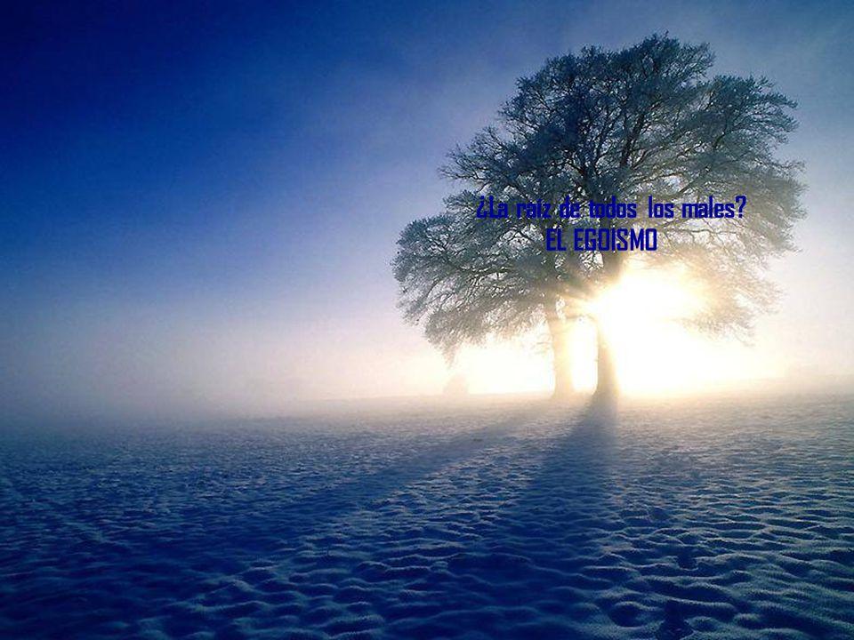 ¿La raíz de todos los males? EL EGOISMO