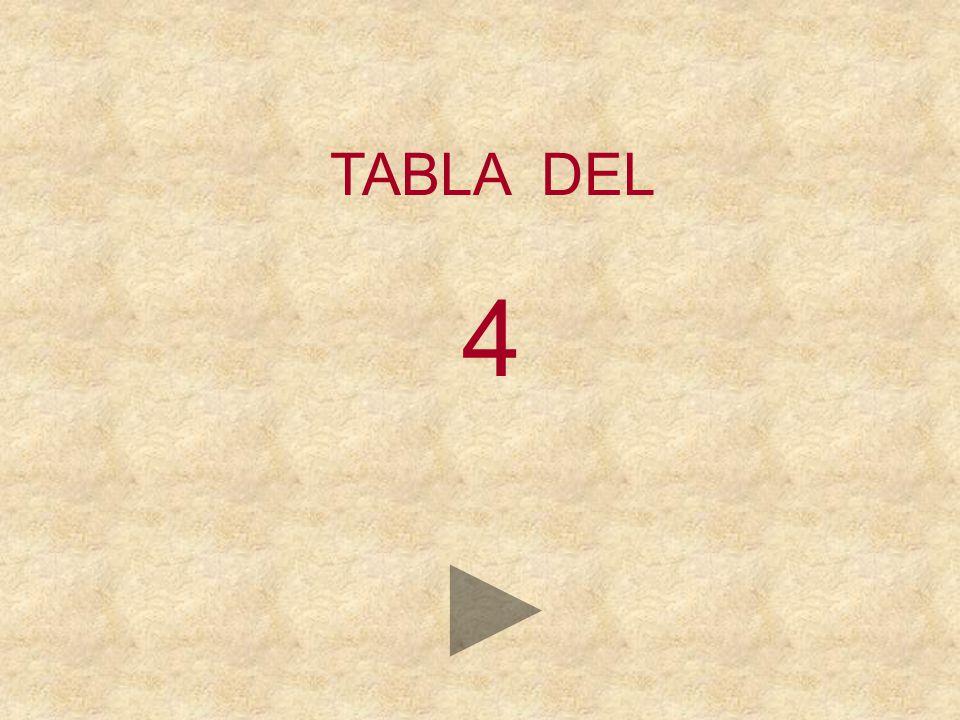 TABLA DEL 4