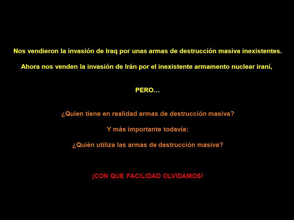 ARMAS DE DESTRUCCIÓN MASIVA