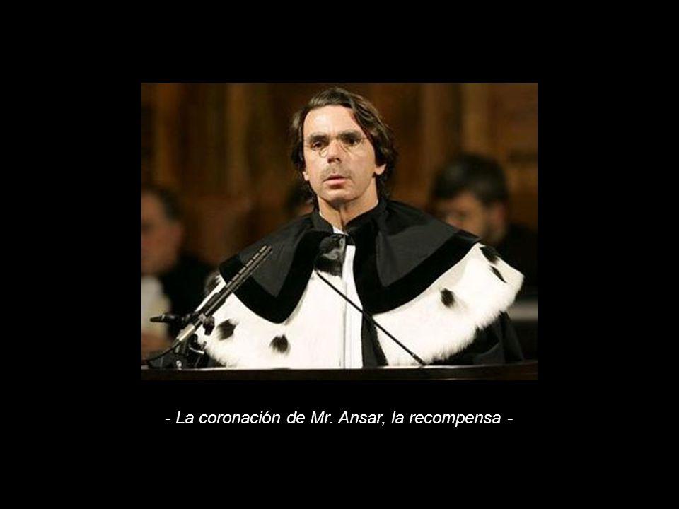 - La coronación de Mr. Ansar, la recompensa -