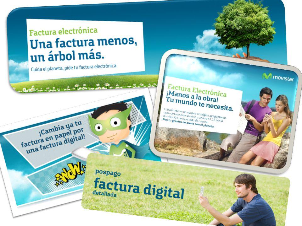 Una estrategia que planteó Telefónica Movistar es la factura digital, consolidó su gestión ambiental con una reducción del 24% en el consumo de energía de las oficinas y del 9,5% en el de agua.