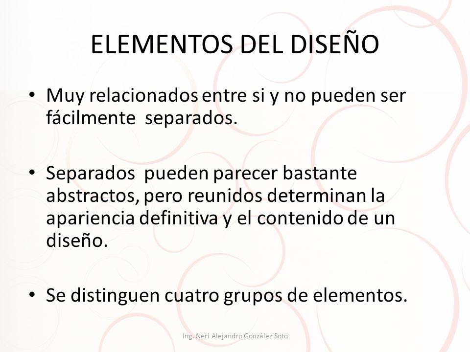 1.- Elementos conceptuales No son visibles.No existen de hecho, sino que parecen estar presentes.
