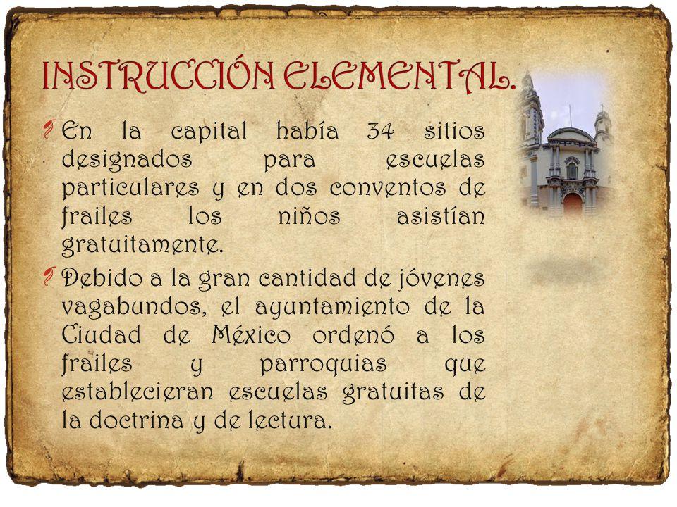 ¶ En 1785, Martín de Sessé, propuso establecer una cátedra de botánica y un jardín para remediar la falta de conocimientos botánicos en este Reino.