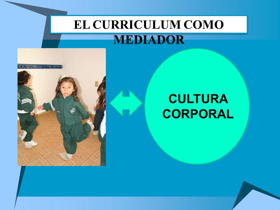 CULTURA CORPORAL EL CURRICULUM COMO MEDIADOR