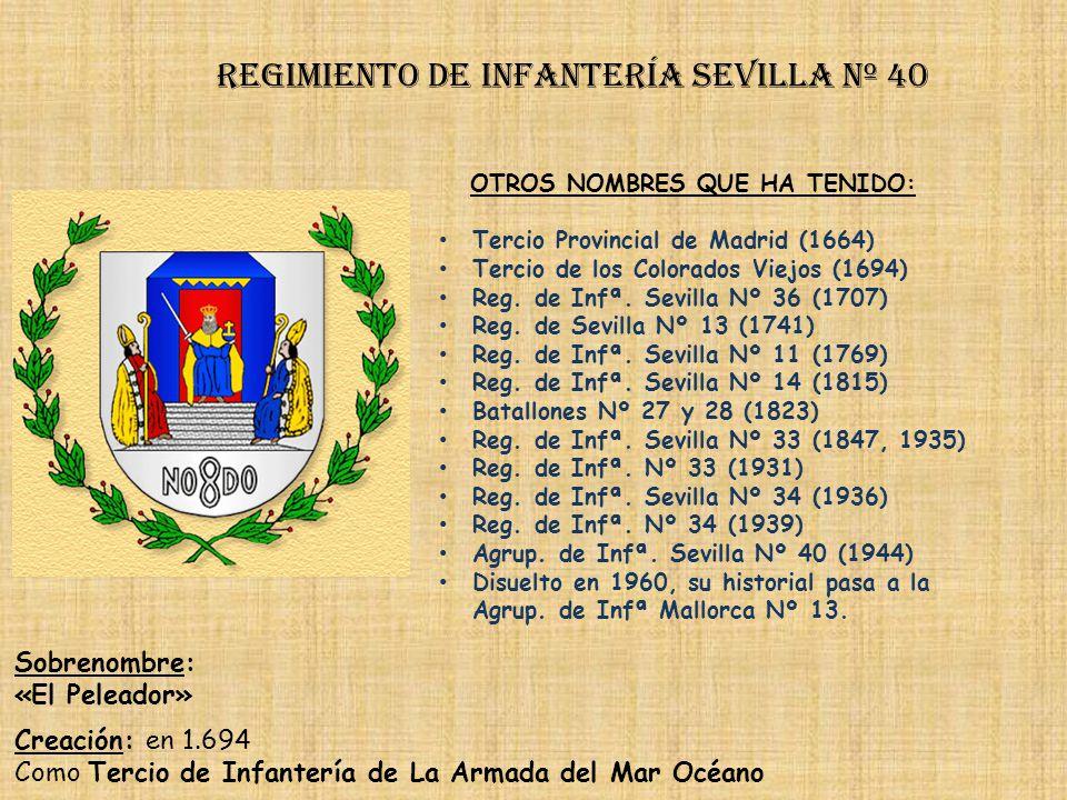 Regimiento de Infantería DE LA REINA nº 2 Regimiento de Infantería Cantabria nº 39 PRINCIPALES HECHOS DE ARMAS Guerra de Sucesión (1704-1714) Guerras