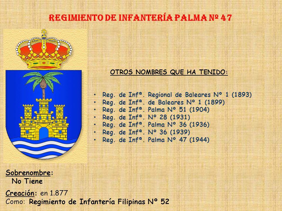 Regimiento de Infantería DE LA REINA nº 2 Regimiento de Infantería mahón nº 46 PRINCIPALES HECHOS DE ARMAS Revolución de Barcelona (1909) Guerras de Á