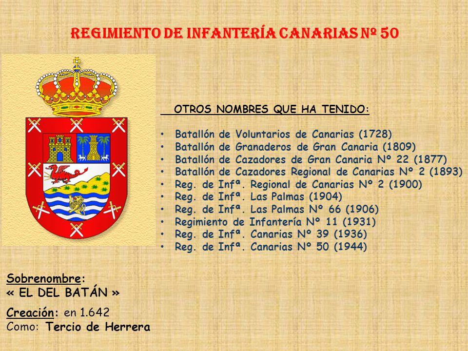 Regimiento de Infantería DE LA REINA nº 2 Regimiento de Infantería tenerife nº 49 PRINCIPALES HECHOS DE ARMAS Guerra de Flandes y Países Bajos (1630-1