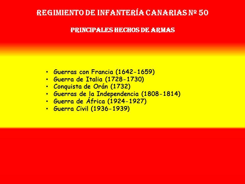 Sobrenombre: « EL DEL BATÁN » Creación: en 1.642 Como: Tercio de Herrera OTROS NOMBRES QUE HA TENIDO: Batallón de Voluntarios de Canarias (1728) Batal