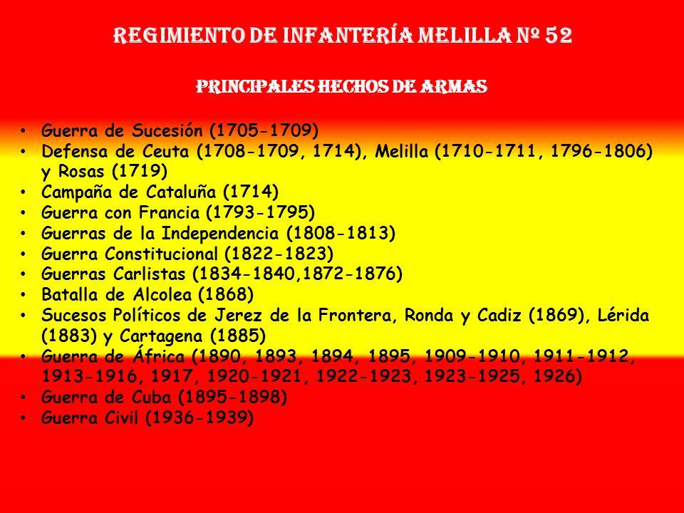 Sobrenombre: « El Quinto Batallón de Guardias» Creación: en 1.701 Como: Tercio de las Milicias de Málaga OTROS NOMBRES QUE HA TENIDO: Reg. de las Mili