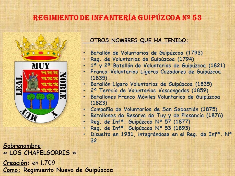 Regimiento de Infantería DE LA REINA nº 2 Regimiento de Infantería la palma nº 53 PRINCIPALES HECHOS DE ARMAS Guerras de Cuba (1896-1898) Guerra Civil