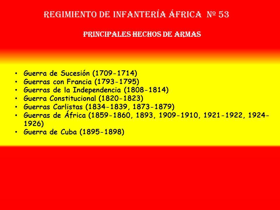 Sobrenombre: No Tiene Creación: en 1.706 Como: Tercio de Espinar OTROS NOMBRES QUE HA TENIDO: Reg. de Gipúzcoa (1704) Reg. de Infª. África Nº 43 (1707