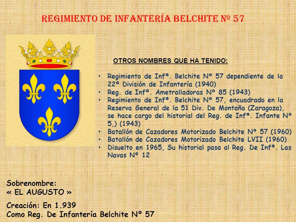 Regimiento de Infantería DE LA REINA nº 2 Regimiento de Infantería WAD RAS nº 55 PRINCIPALES HECHOS DE ARMAS Guerras de África (1893, 1909-1910, 1911-