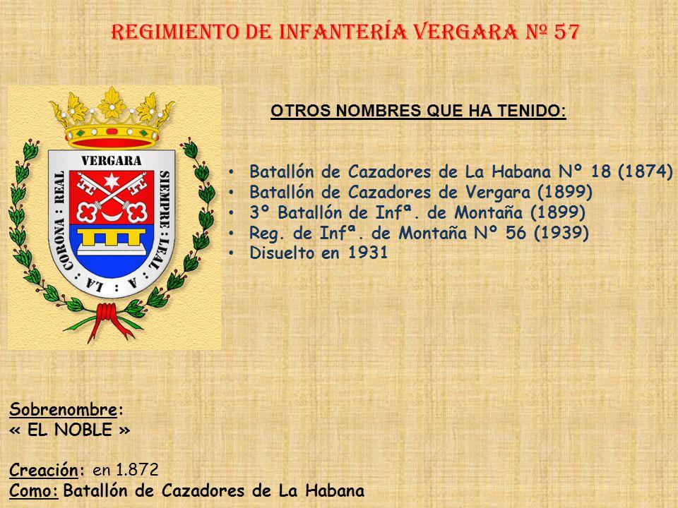 Regimiento de Infantería DE LA REINA nº 2 Regimiento de Infantería belchite nº 57 PRINCIPALES HECHOS DE ARMAS Recoge todos los hechos del Reg. De Infª