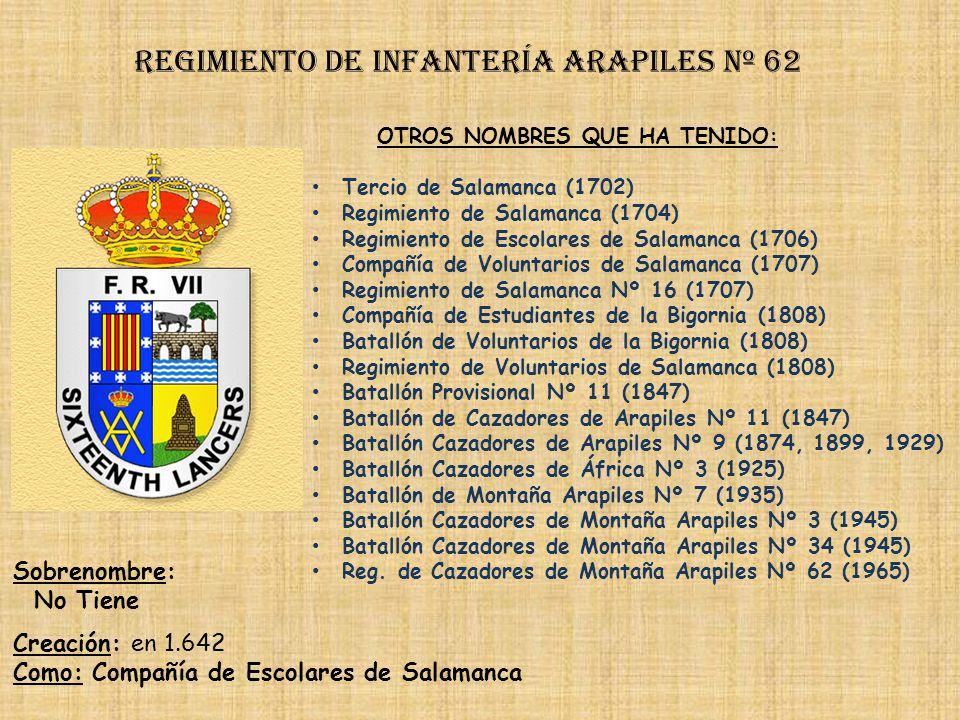 Regimiento de Infantería DE LA REINA nº 2 Regimiento de Infantería alcazar de toledo nº 61 PRINCIPALES HECHOS DE ARMAS Guerra Civil (1936-1939)