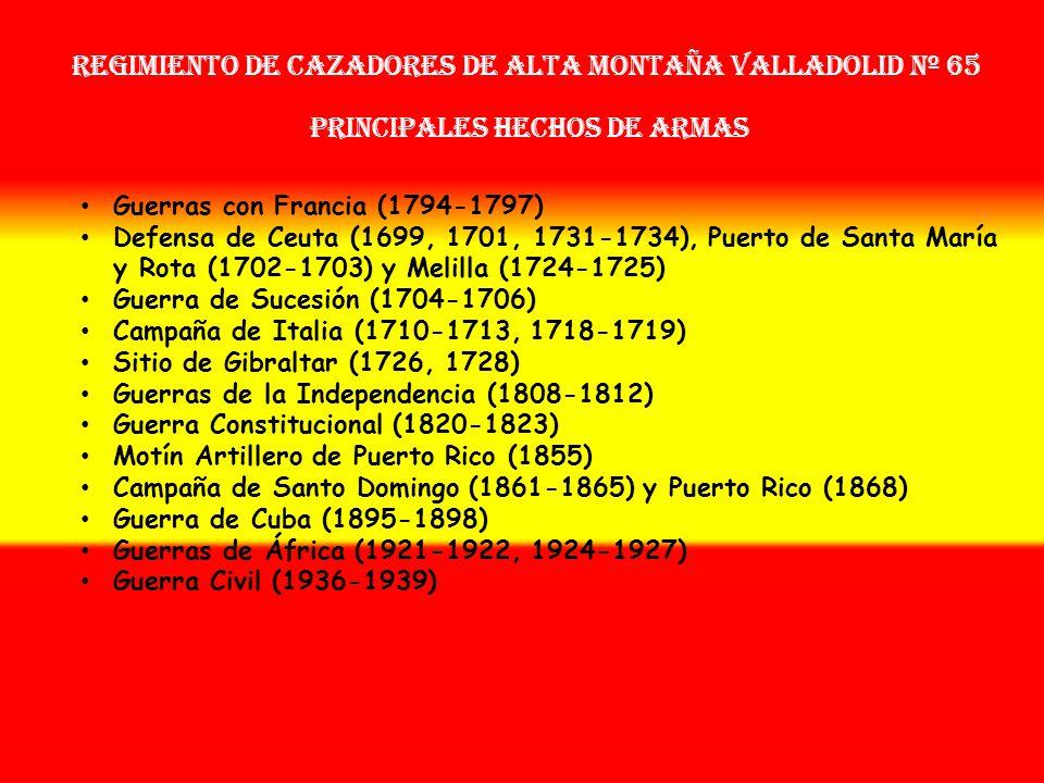 Sobrenombre: « EL UNIVERSITARIO » Creación: en 1.657 Como: Tercio Provincial Nuevo de Valladolid OTROS NOMBRES QUE HA TENIDO: Tercio de los Verdes Nue