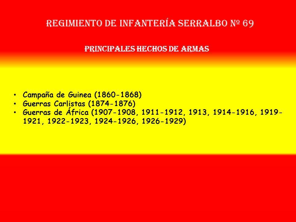 Sobrenombre: No Tiene Creación: en 1.858 Como: Reg. de Infª. de Fernando Poo OTROS NOMBRES QUE HA TENIDO: Reg. de Infª. Fernando Poo Nº 44 (1877) Reg.