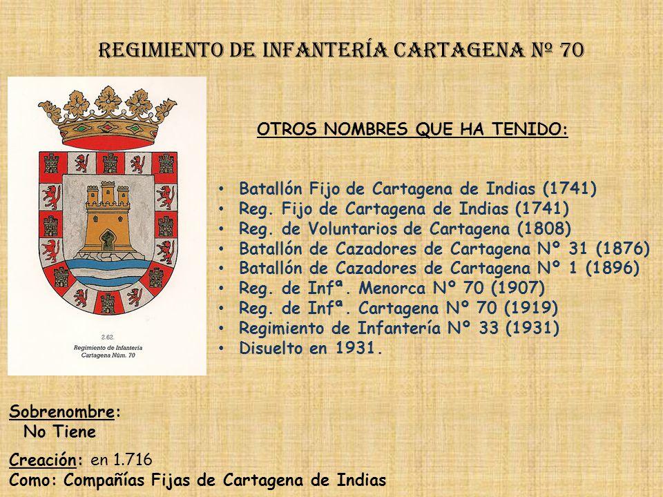 Regimiento de Infantería DE LA REINA nº 2 Regimiento de Infantería serralbo nº 69 PRINCIPALES HECHOS DE ARMAS Campaña de Guinea (1860-1868) Guerras Ca