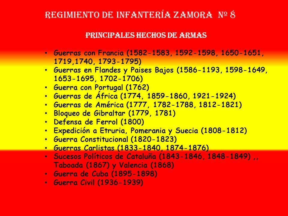 Sobrenombre: « EL FIEL » Creación: en 1.560 Como: Tercio de Bobadilla OTROS NOMBRES QUE HA TENIDO: Tercio de las Azores (1582) Tercio Departamental de