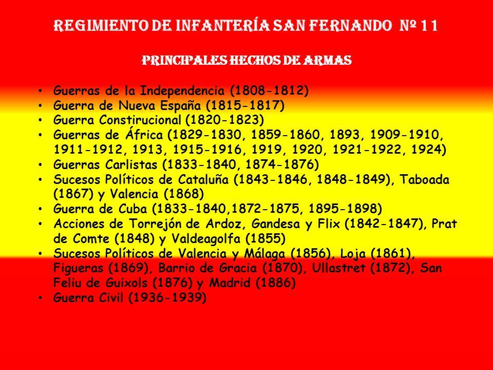Sobrenombre: « EL LEGIONARIO » Creación: en 1.808 Como: Tercio del Ampurdán OTROS NOMBRES QUE HA TENIDO: 2ª Sección de la Legión Catalana de Infanterí