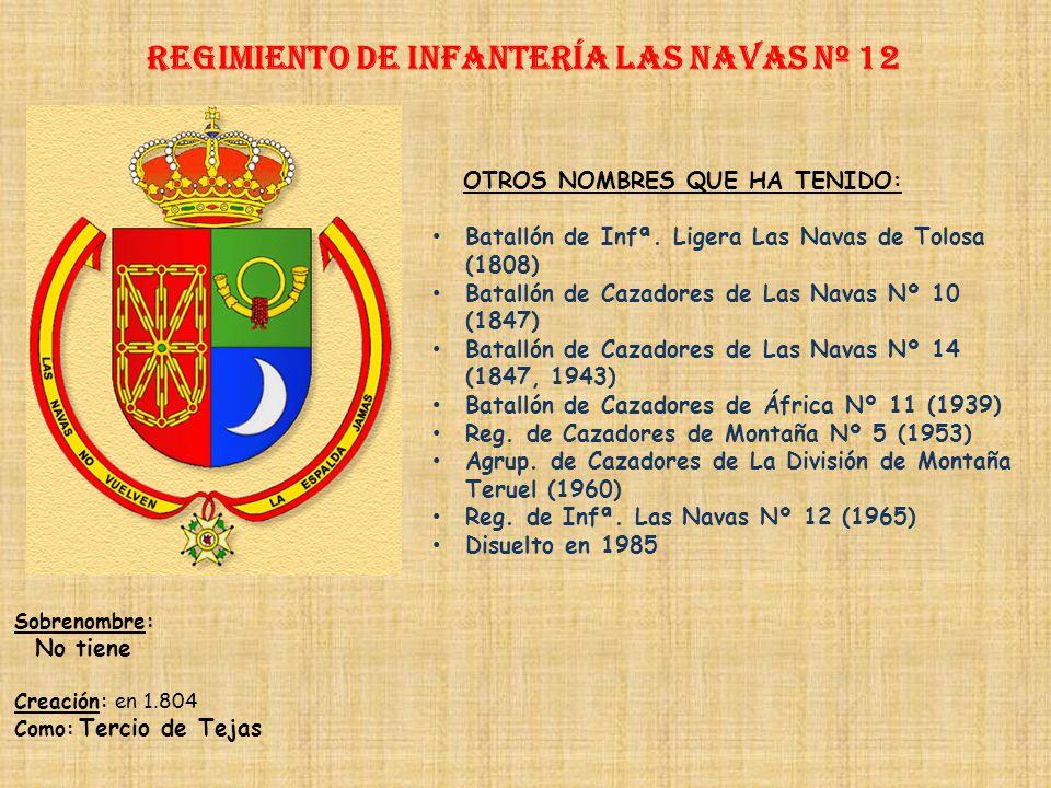 Regimiento de Infantería DE LA REINA nº 2 Regimiento de Infantería ZARAGOZA nº 12 PRINCIPALES HECHOS DE ARMAS Guerras con Portugal (1580, 1640, 1662,