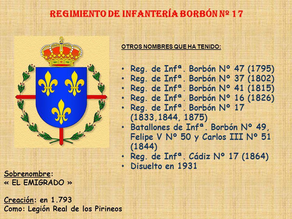 Regimiento de Infantería DE LA REINA nº 2 Regimiento de Infantería ARAGÓN nº 17 PRINCIPALES HECHOS DE ARMAS Guerra de Sucesión (1711) Guerra de Italia