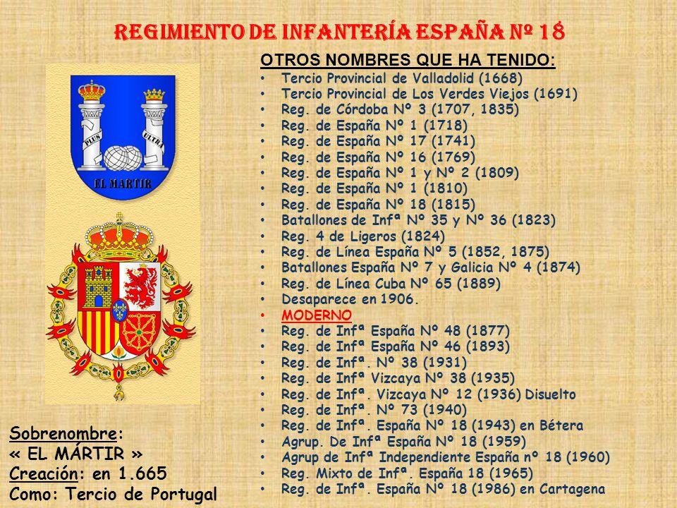 Regimiento de Infantería DE LA REINA nº 2 Regimiento de Infantería BORBÓN nº 17 PRINCIPALES HECHOS DE ARMAS Guerras con Francia (1793-1795) Guerra de