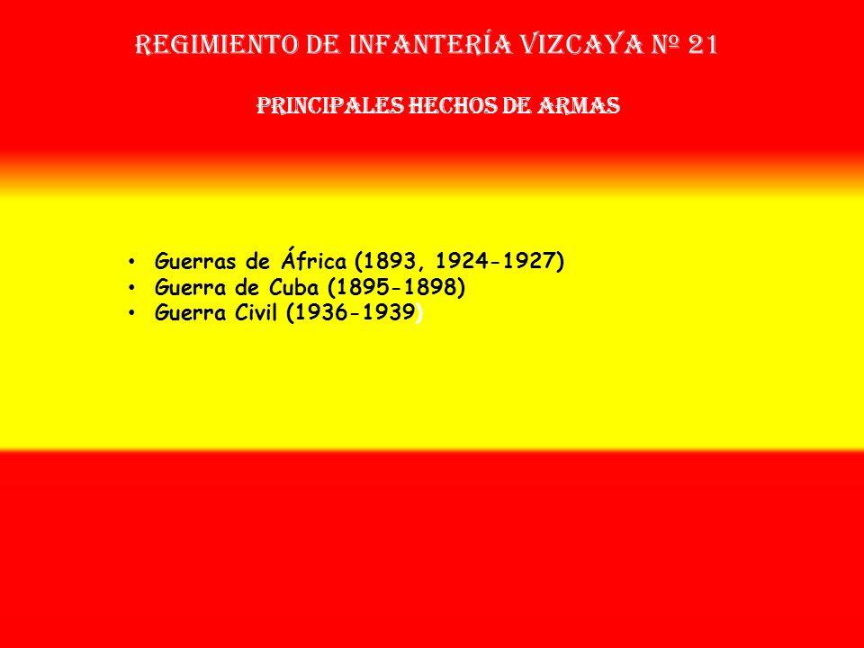Sobrenombre: No Tiene Creación: en 1.877 Como: Regimiento de Infantería Vizcaya Nº 54 OTROS NOMBRES QUE HA TENIDO: Reg. de Infª. Vizcaya Nº 51 (1893)