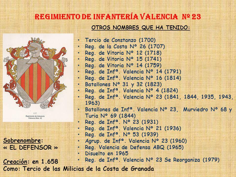 Regimiento de Infantería DE LA REINA nº 2 Regimiento de Infantería gerona nº 22 PRINCIPALES HECHOS DE ARMAS Guerra con Francia (1793-1795) Guerra con