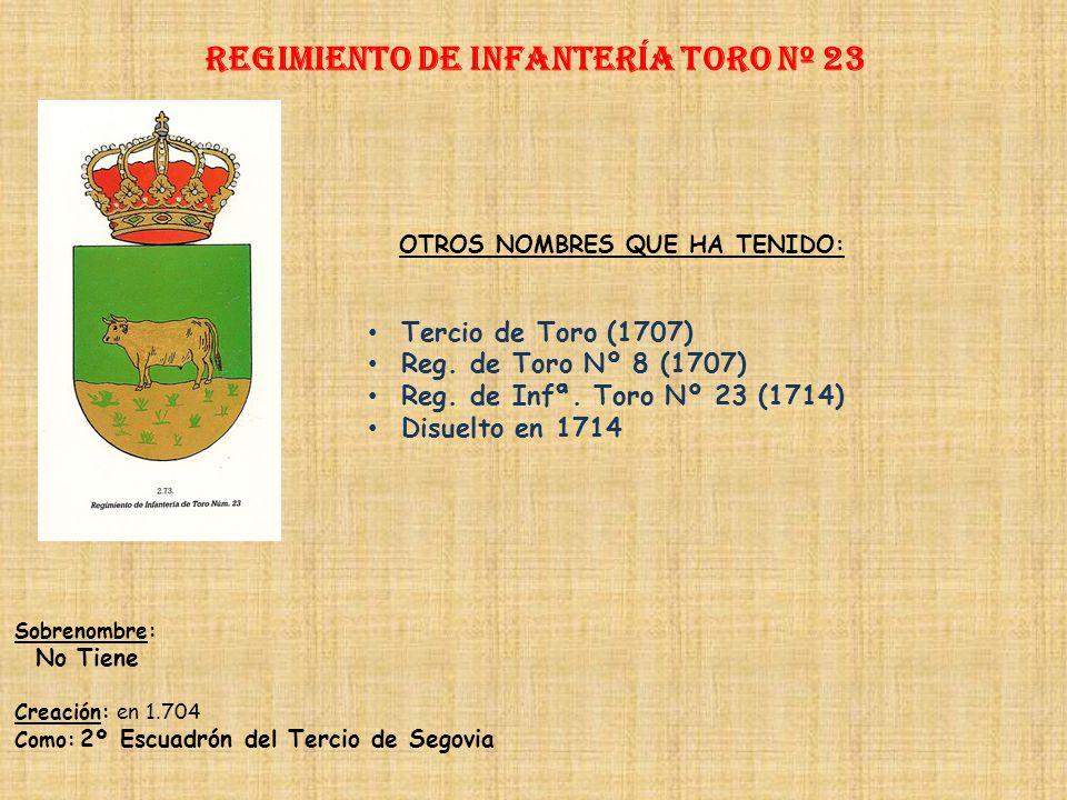 Regimiento de Infantería DE LA REINA nº 2 Regimiento de Infantería VALENCIA nº 23 PRINCIPALES HECHOS DE ARMAS Guerra de Portugal (1658-1659, 1762) Def