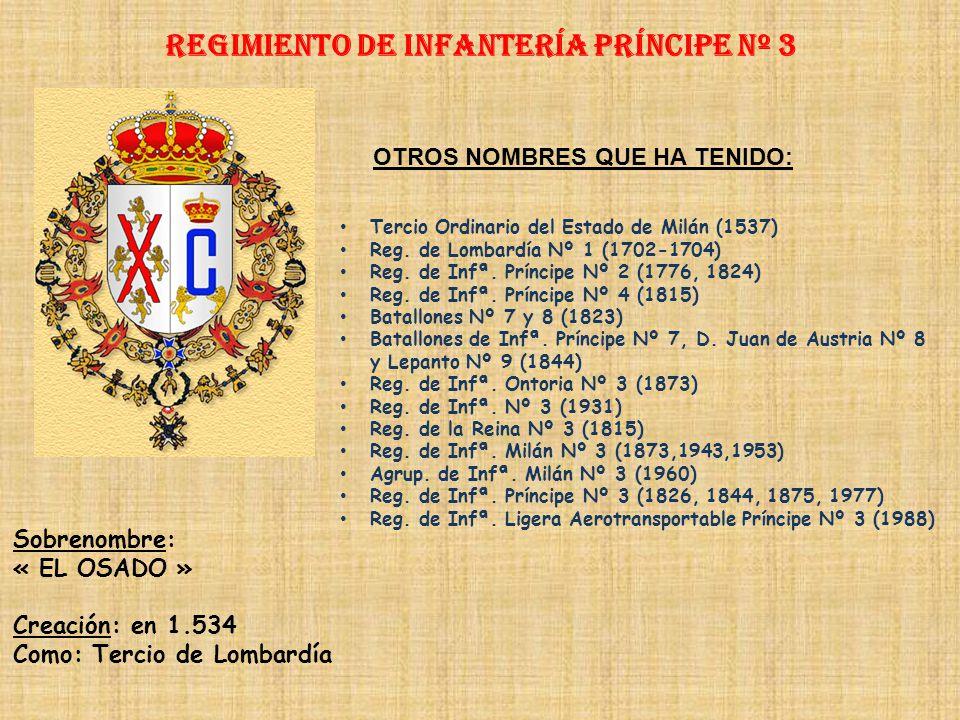 Regimiento de Infantería DE LA REINA nº 2 PRINCIPALES HECHOS DE ARMAS Guerras de Italia (1740-1746) Guerras con Portugal (1762) Guerra de América (176