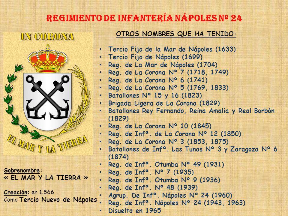 Regimiento de Infantería DE LA REINA nº 2 Regimiento de Infantería TORO nº 23 PRINCIPALES HECHOS DE ARMAS Guerra de Sucesión (1705-1714) Guerras con P