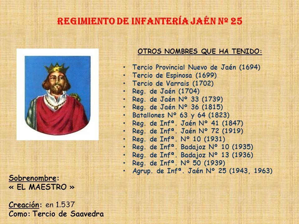 Regimiento de Infantería DE LA REINA nº 2 Regimiento de Infantería NÁPOLES nº 24 PRINCIPALES HECHOS DE ARMAS Guerra con los Moriscos (1569-1570) Guerr