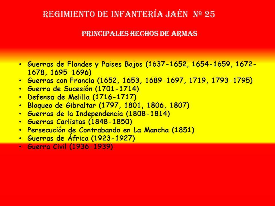 Sobrenombre: « EL MAESTRO » Creación: en 1.537 Como: Tercio de Saavedra OTROS NOMBRES QUE HA TENIDO: Tercio Provincial Nuevo de Jaén (1694) Tercio de