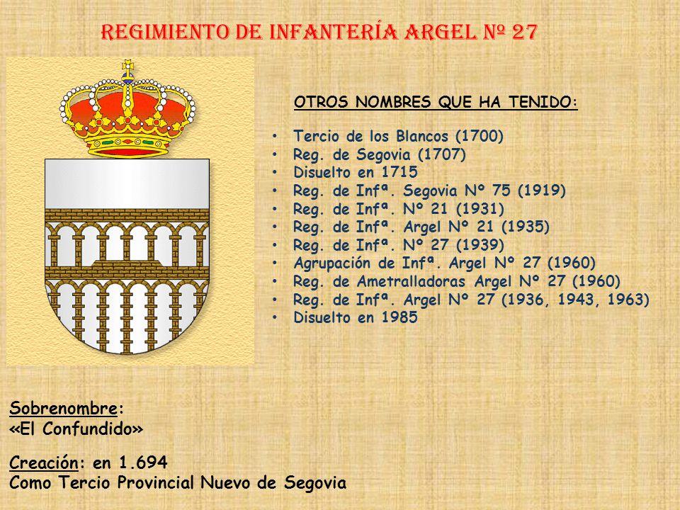 Regimiento de Infantería DE LA REINA nº 2 Regimiento de Infantería ALBUERA nº 26 PRINCIPALES HECHOS DE ARMAS Combates Navales de Finisterre (1805) y T