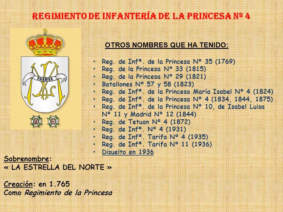Regimiento de Infantería DE LA REINA nº 2 Regimiento de Infantería PRÍNCIPE nº 3 PRINCIPALES HECHOS DE ARMAS Guerras con Francia (1537-1558, 1793-1794