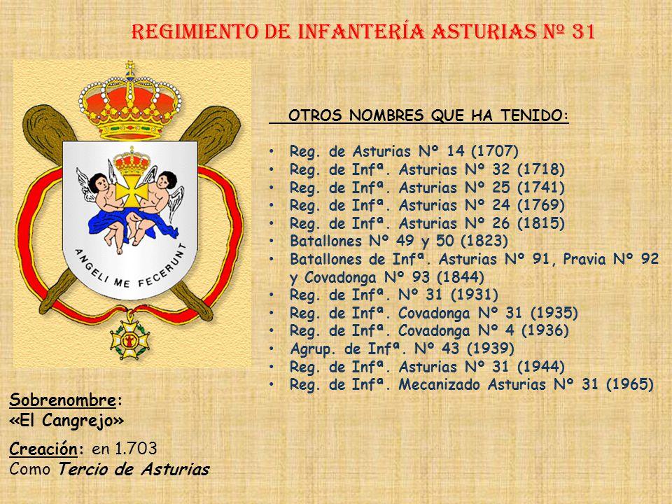 Regimiento de Infantería DE LA REINA nº 2 Regimiento de Infantería Lealtad nº 30 PRINCIPALES HECHOS DE ARMAS Campaña de Melilla y Presidios Menores (1