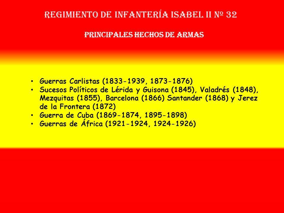 Sobrenombre: «El Modelo» Creación: en 1.833 Como Batallón de Francos Tiradores de Isabel II OTROS NOMBRES QUE HA TENIDO: Batallón de Francos Cazadores