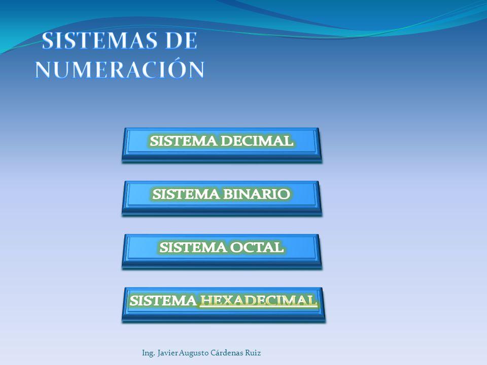 Ing. Javier Augusto Cárdenas Ruiz