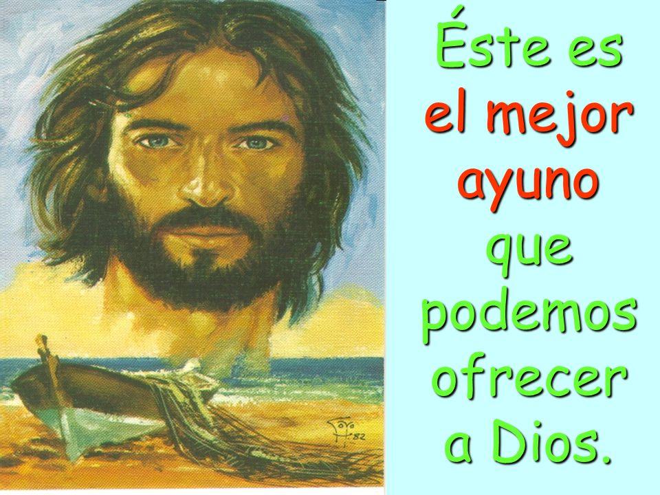 Ayuna de Pensamientos de Debilidad.Y llénate de FORTALEZA, confiado en las Promesas de Dios.