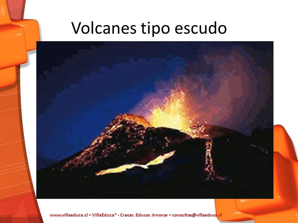 Volcanes tipo escudo www.villaeduca.cl – VillaEduca® - Crecer. Educar. Innovar – consultas@villaeduca.cl