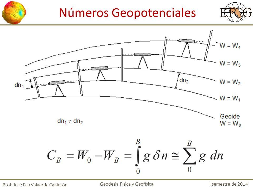 Se define la altura dinámica como: Donde 0 es la gravedad normal para una latitud estándar Ventaja: dos puntos sobre la misma superficie equipotencial tiene la misma altura dinámica, mas no la misma altura ortométrica.