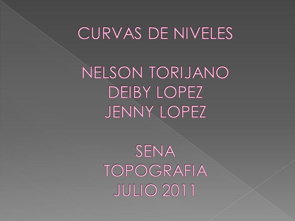 CURVAS DE NIVEL TOMA DE TOPOGRAFIA INTERPOLACION DE CURVAS DIBUJO DE CURVAS DIBULJO DE PERFILES