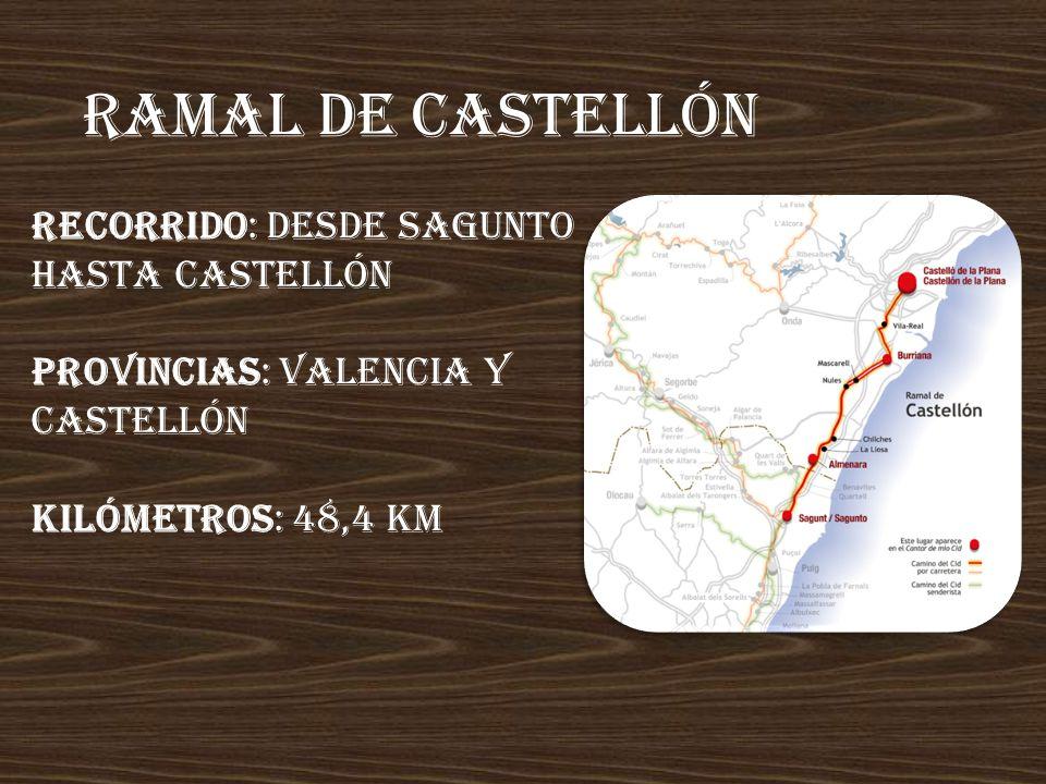 Anillo deL maestraZgo Recorrido: ruta circular; desde Rubielos de Mora o Montanejos (Castellón) Provincias: Teruel y Castellón Kilómetros: 214,3 km