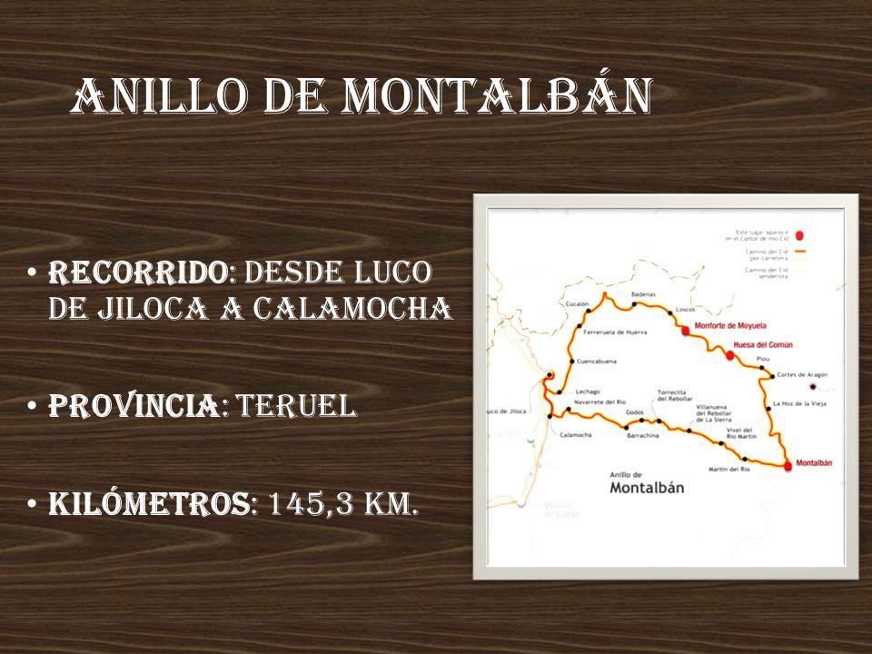 Las tres taifas Recorre los territorios de las taifas legendarias de Zaragoza, Toledo y Albarracín. Recorrido: desde Ateca (Zaragoza) hasta Cella (Ter