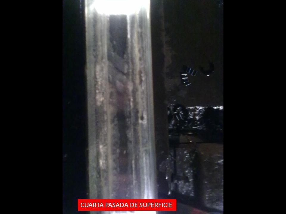 CUARTA PASADA DE SUPERFICIE
