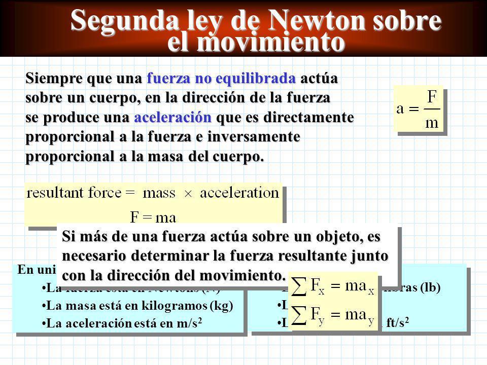 Segunda ley de Newton Capítulo 7 Física Sexta edición Paul E.