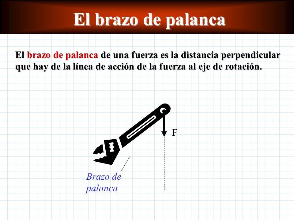 Condiciones de equilibrio La línea de acción de una fuerza es una línea imaginaria que se extiende indefinidamente a lo largo del vector en ambas direcciones.