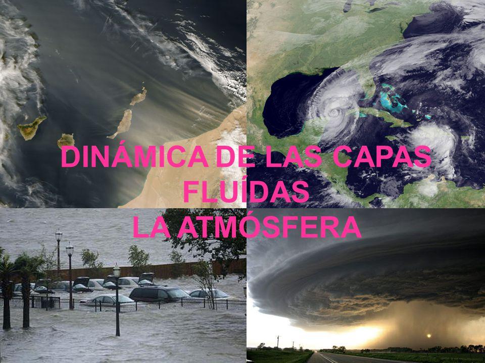 DINÁMICA DE LAS CAPAS FLUÍDAS LA ATMÓSFERA