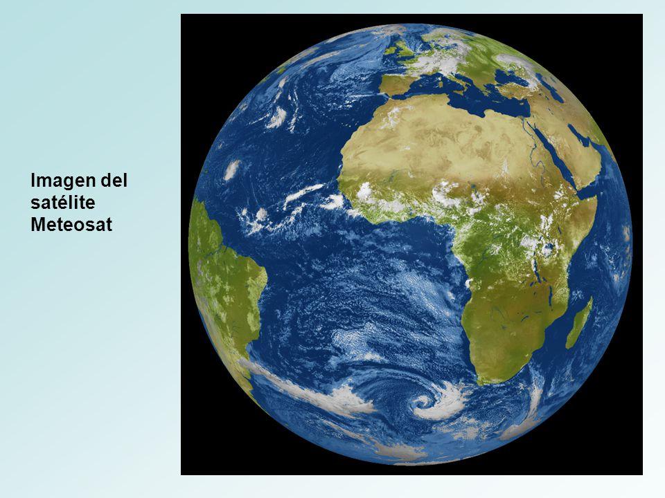 Imagen del satélite Meteosat