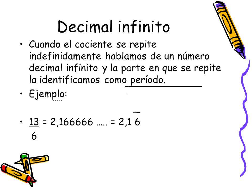 De un decimal a una fracción Para transformar un decimal finito a fracción, se multiplica y divide ( Amplifica) el decimal por una potencia de 10 que tenga igual cantidad de ceros como dígitos tenga la parte decimal del número Ejemplo 0, 23 = 0,23 · 100 = 23 100 100